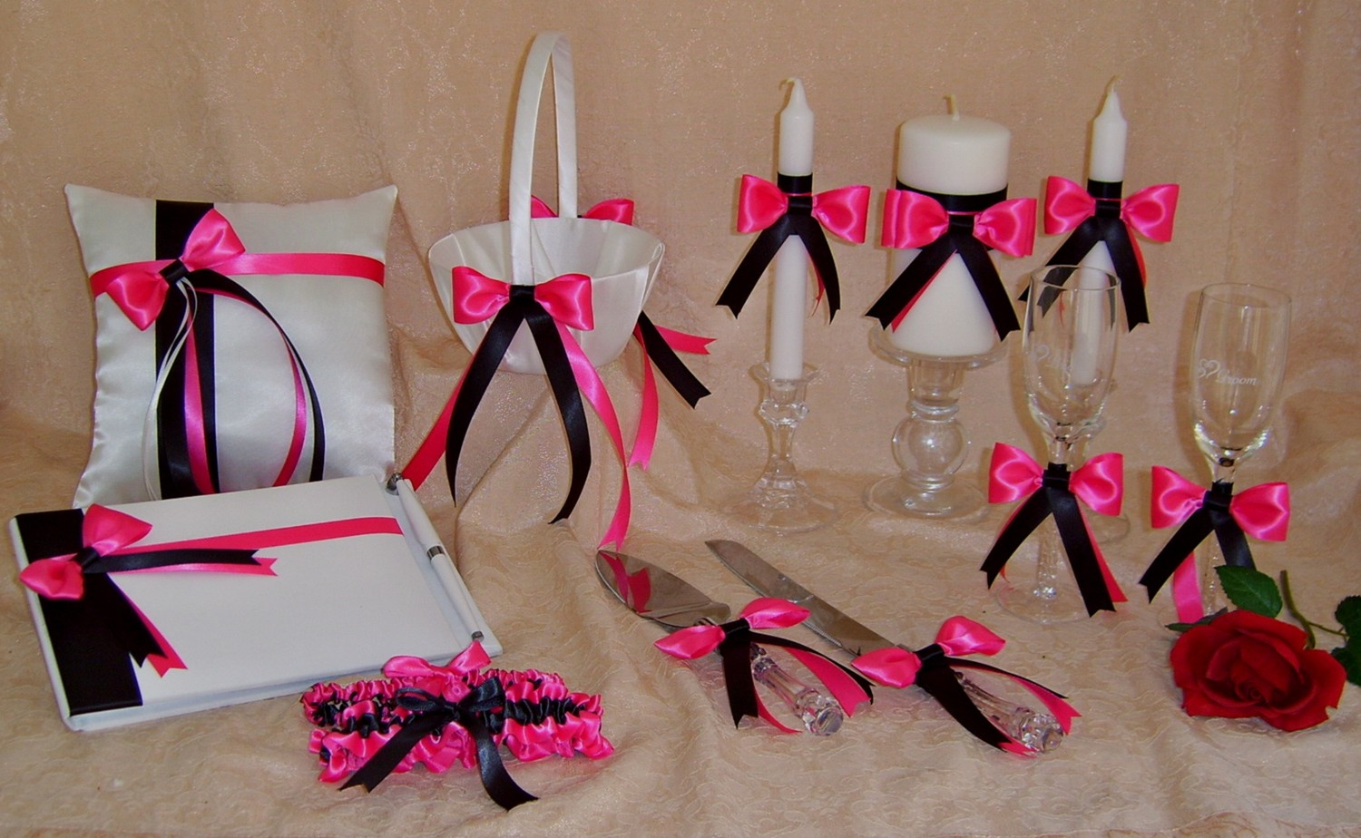 Pink And Black Wedding Ideas: Pink And Black Decorations 8 Free Wallpaper