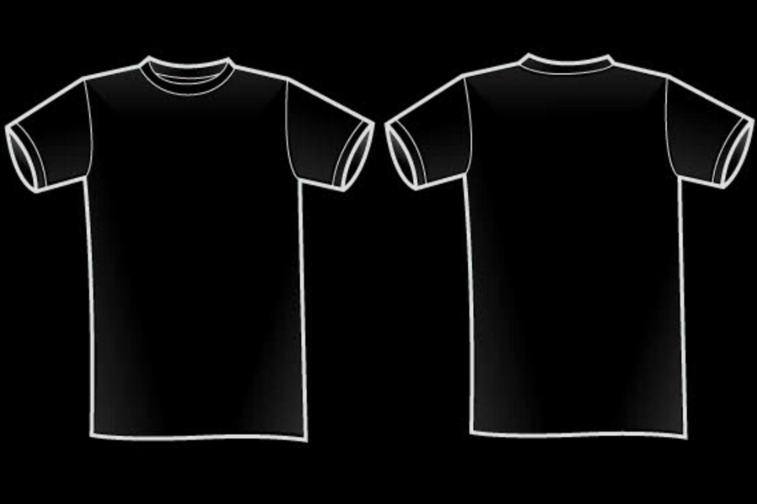 Black t shirt design template - Plain Black T Shirt 36 Widescreen Wallpaper Hdblackwallpaper Com