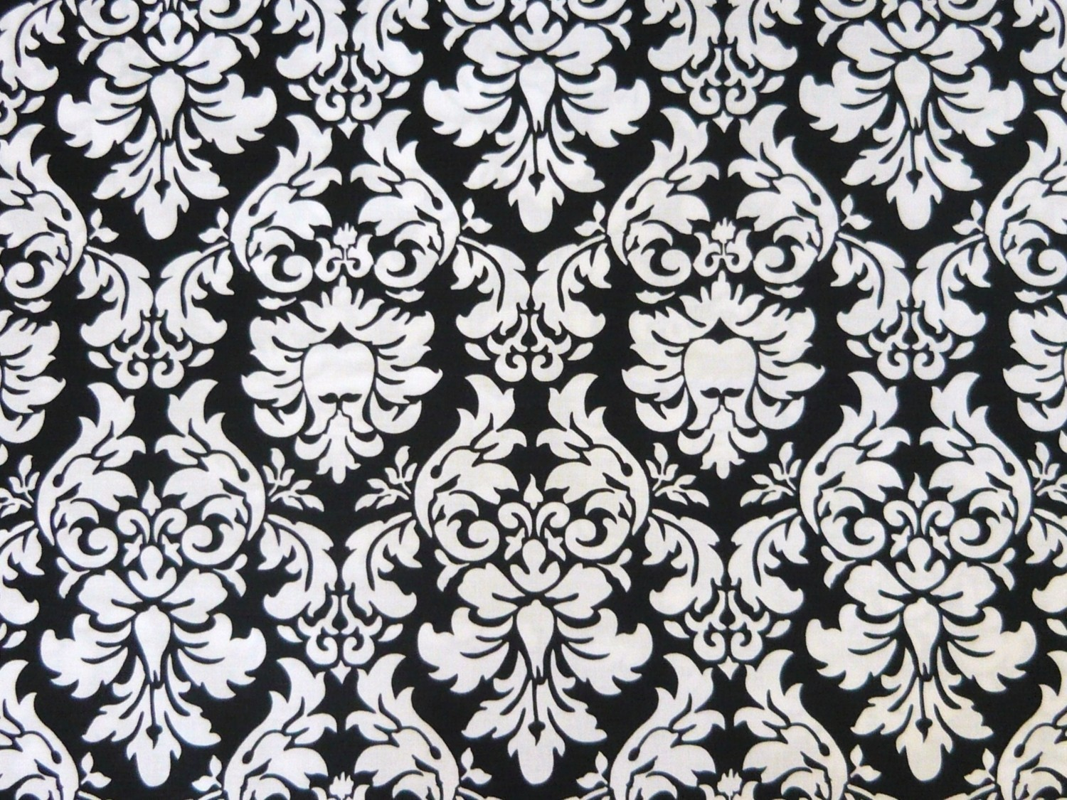 Black and white damask wallpaper 14 background for Damask wallpaper