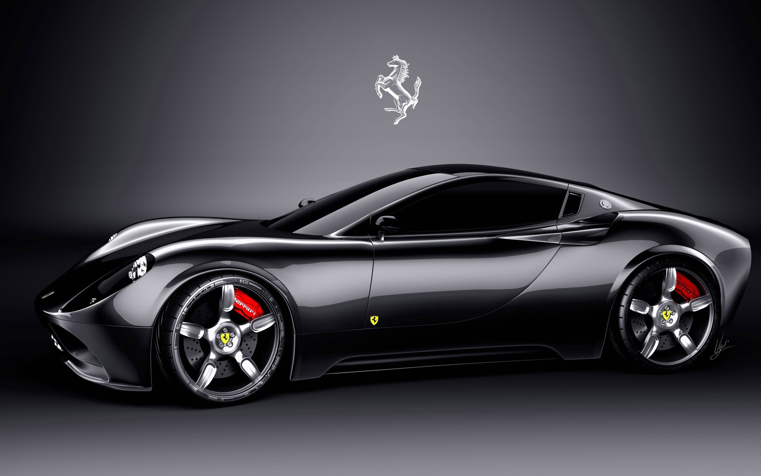 Wallpaper Mobil Sport Black: Black Sport Cars Wallpapers 4 Desktop Wallpaper