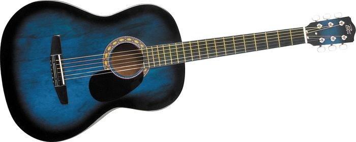Blue And Black Acoustic Guitar 36 Hd Wallpaper ...