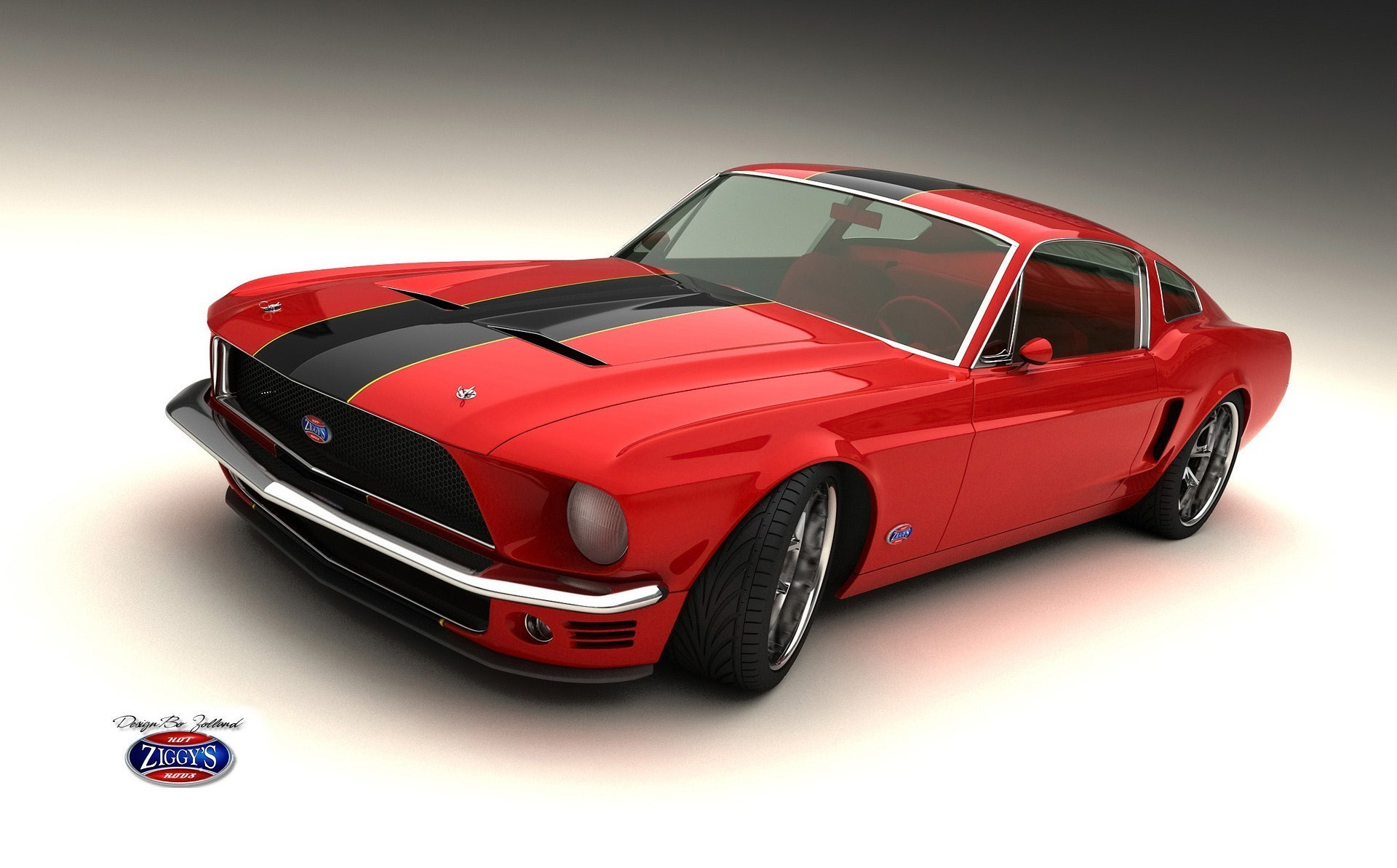 Red And Black Muscle Cars Desktop Background Hdblackwallpaper Com