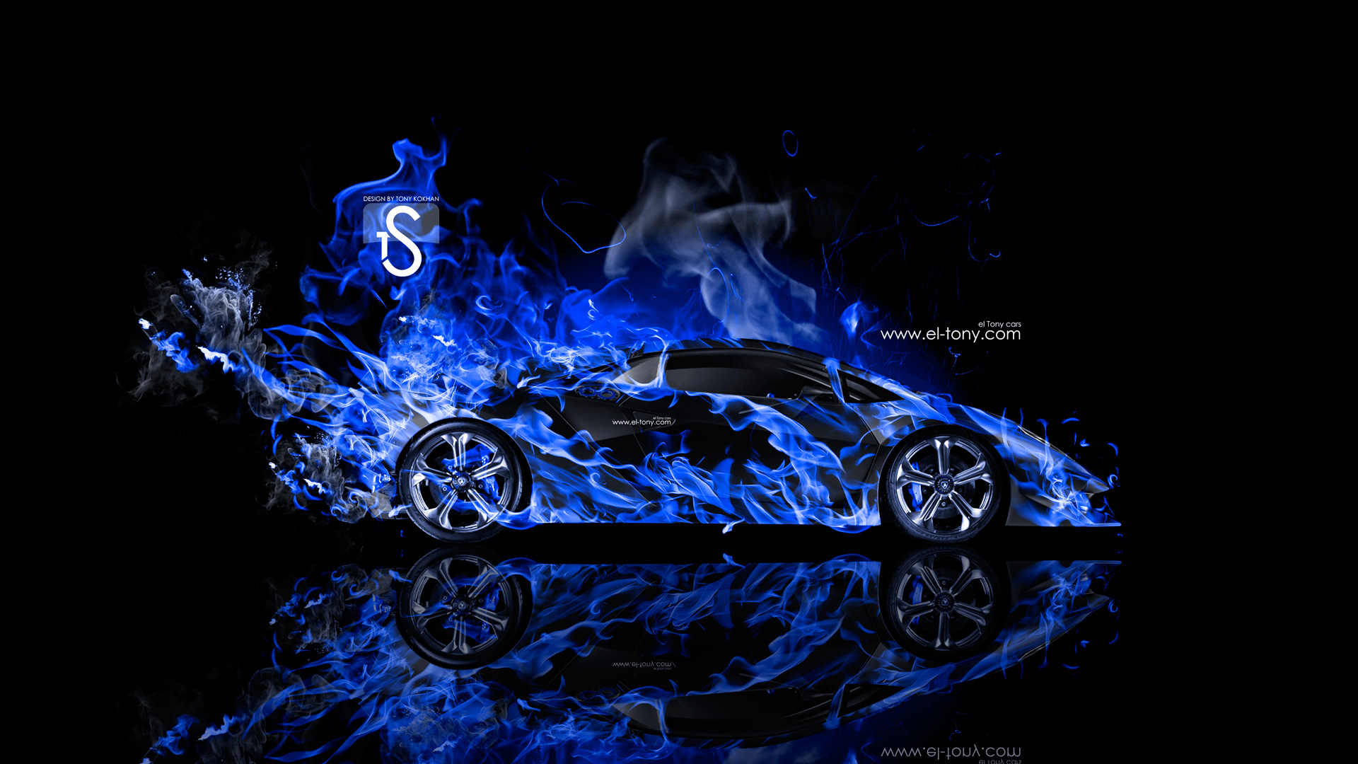 Black And Blue Lamborghini 42 Free Hd Wallpaper Black And Blue