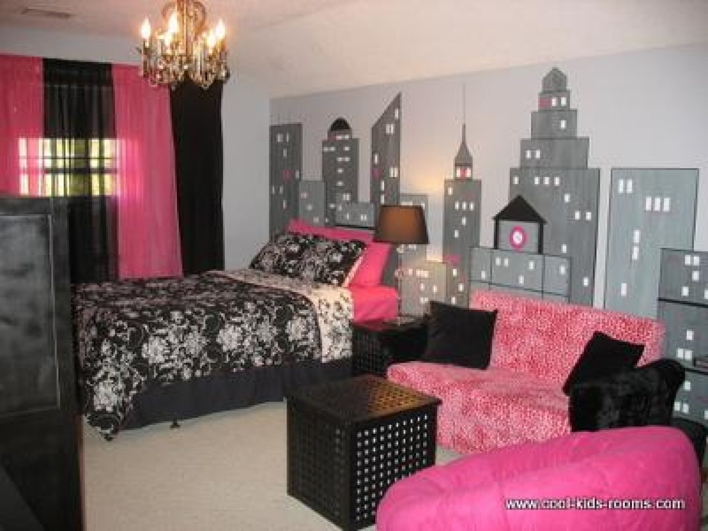 Pink And Black Bedroom Wallpaper Pink And Black Wallpaper For Bedroom
