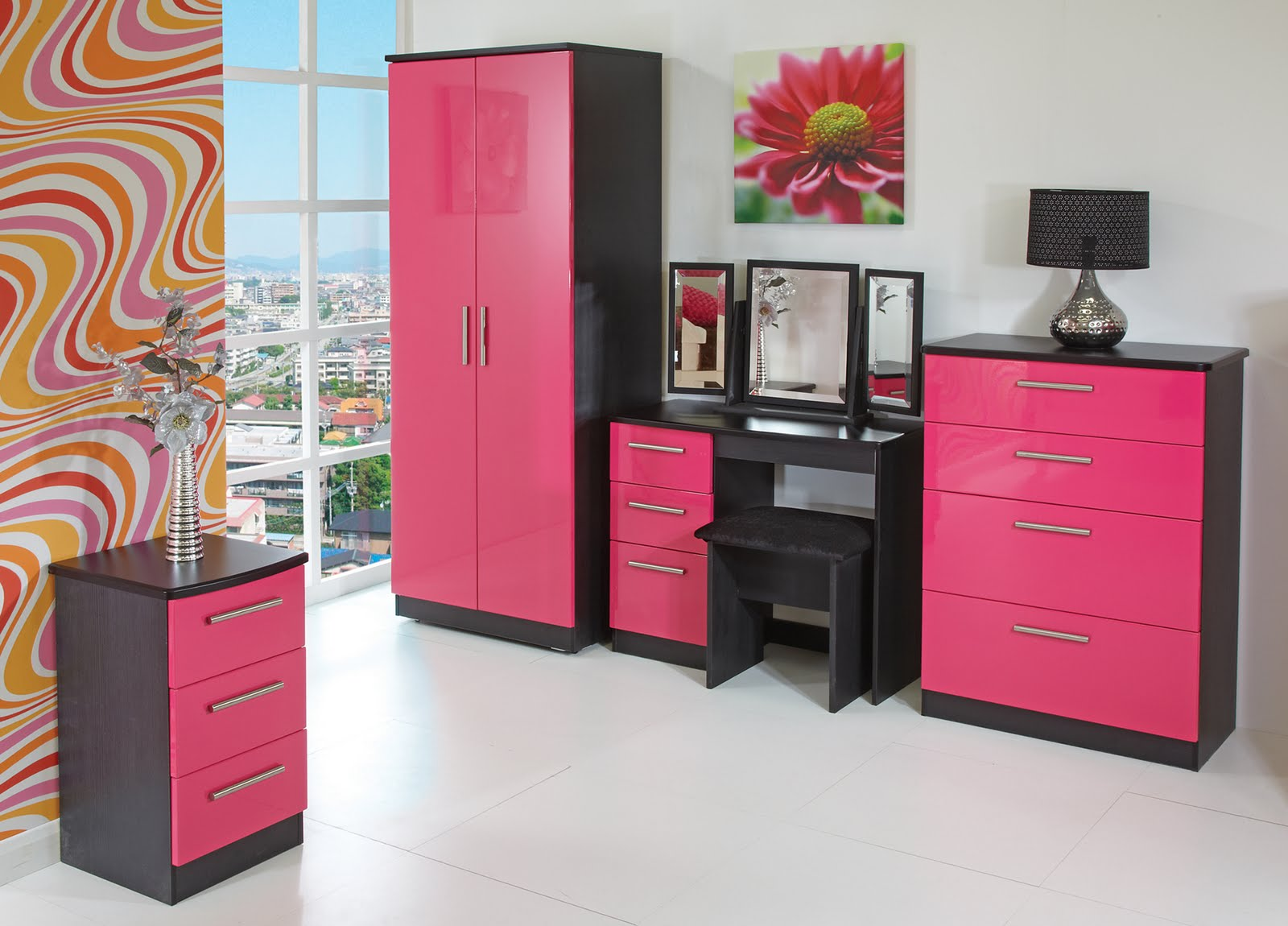 Pink And Black Bedrooms 18 Free Hd Wallpaper ...