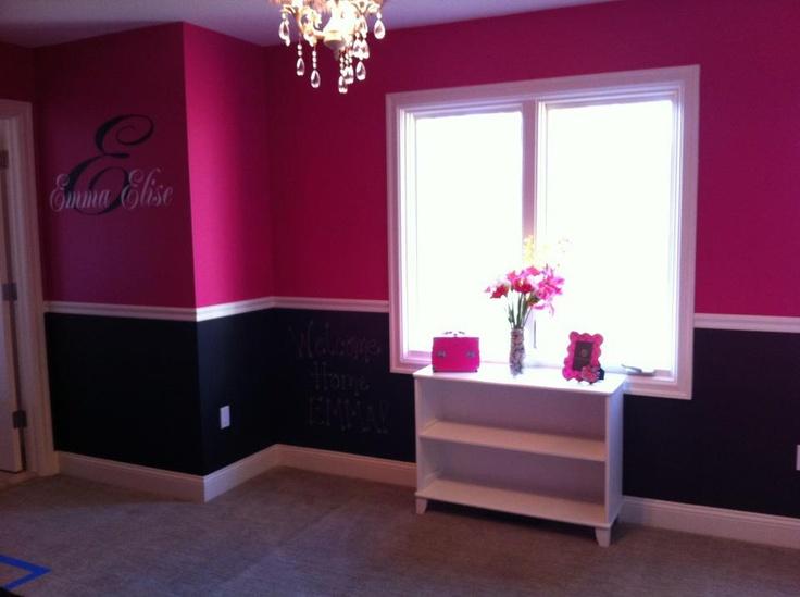 Pink And Black Bedrooms 10 Background - Hdblackwallpaper.com